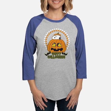 Snoopy Pumpkin Baseball Tee