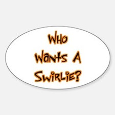 Swirlie Bully Oval Decal