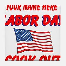 Labor Day Tile Coaster