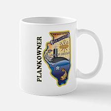 USS Illinois Plankowner Mug