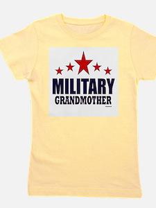 Military Grandmother Girl's Tee