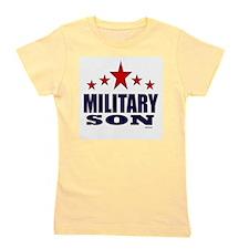 Military Son Girl's Tee