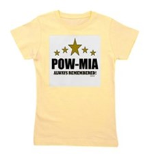 POW-MIA Always Remembered Girl's Tee
