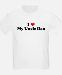 I Love My Uncle Dan Kids T-Shirt