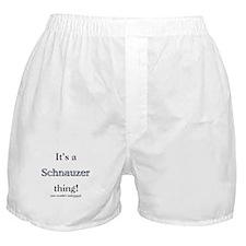 Schnauzer Thing Boxer Shorts