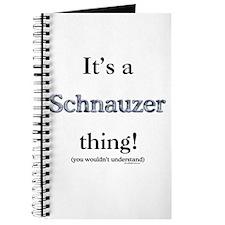 Schnauzer Thing Journal