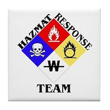 HAZMAT Response Tile Coaster