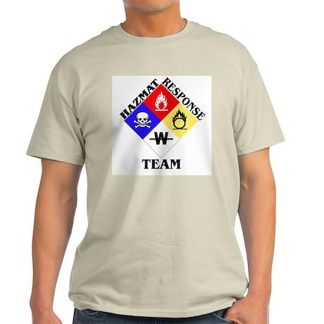 HAZMAT Response Ash Grey T-Shirt