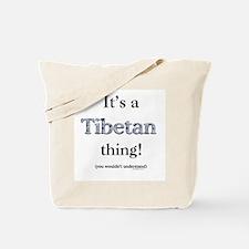 Tibetan Thing Tote Bag