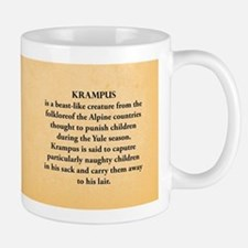 Krampus Historical Mug