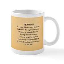 Krampus Historical Small Mug