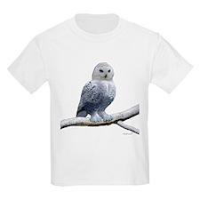 BLUE-EYED SNOW OWL T-Shirt