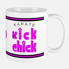 Karate Kick Chick Mug