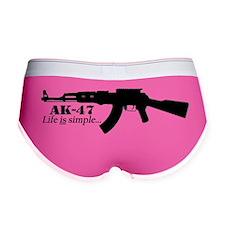 AK-47 - Life is simple Women's Boy Brief