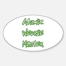 Atomic Wedgie Master Oval Decal