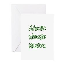 Atomic Wedgie Master Greeting Cards (Pk of 10)