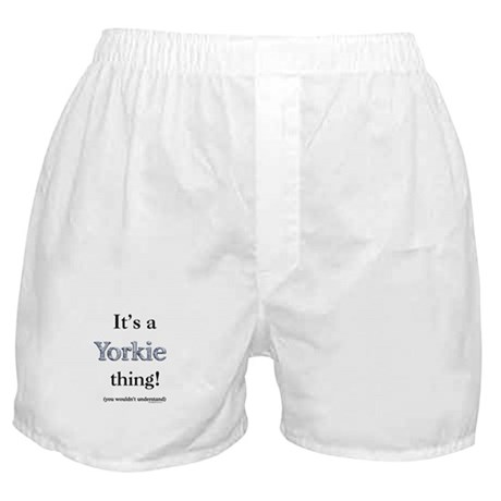 Yorkie Thing Boxer Shorts