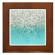 Glitteresques I Framed Tile