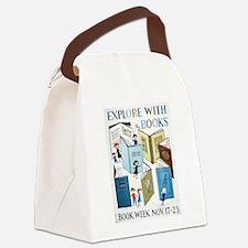 1957 Children's Book Week Canvas Lunch Bag