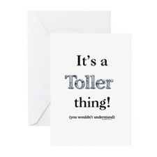 Toller Thing Greeting Cards (Pk of 10)