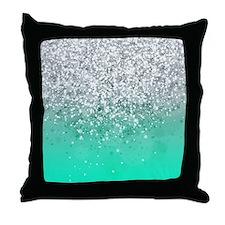 Glitteresques III Throw Pillow