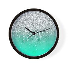 Glitteresques III Wall Clock