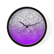 Glitteresques IV Wall Clock