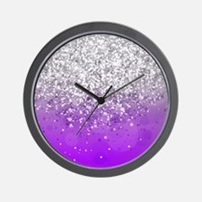 Glitteresques IV Wall Clock