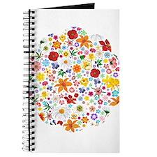 Spring Flowers Pattern Journal