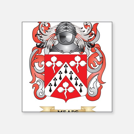 Meads Coat of Arms - Family Crest Sticker