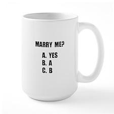 Marry Me Mug