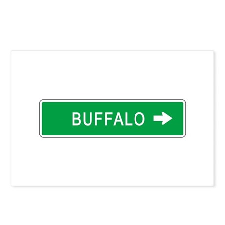 Roadmarker Buffalo (NY) Postcards (Package of 8)