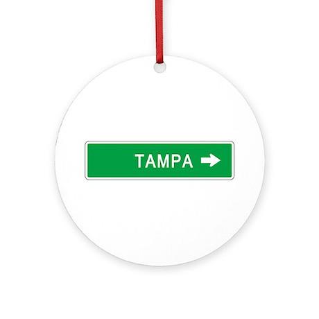 Roadmarker Tampa (FL) Ornament (Round)
