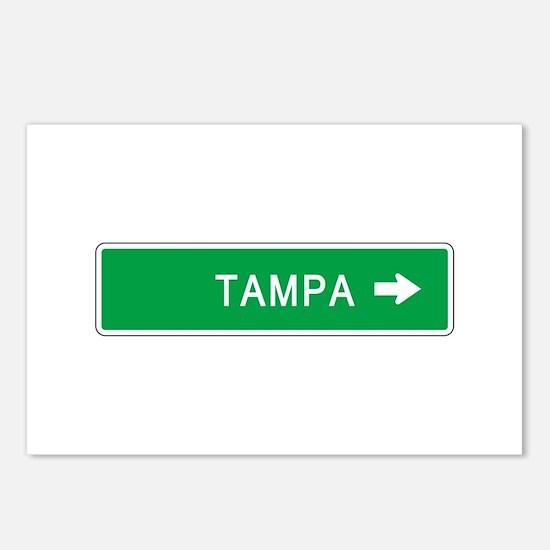 Roadmarker Tampa (FL) Postcards (Package of 8)