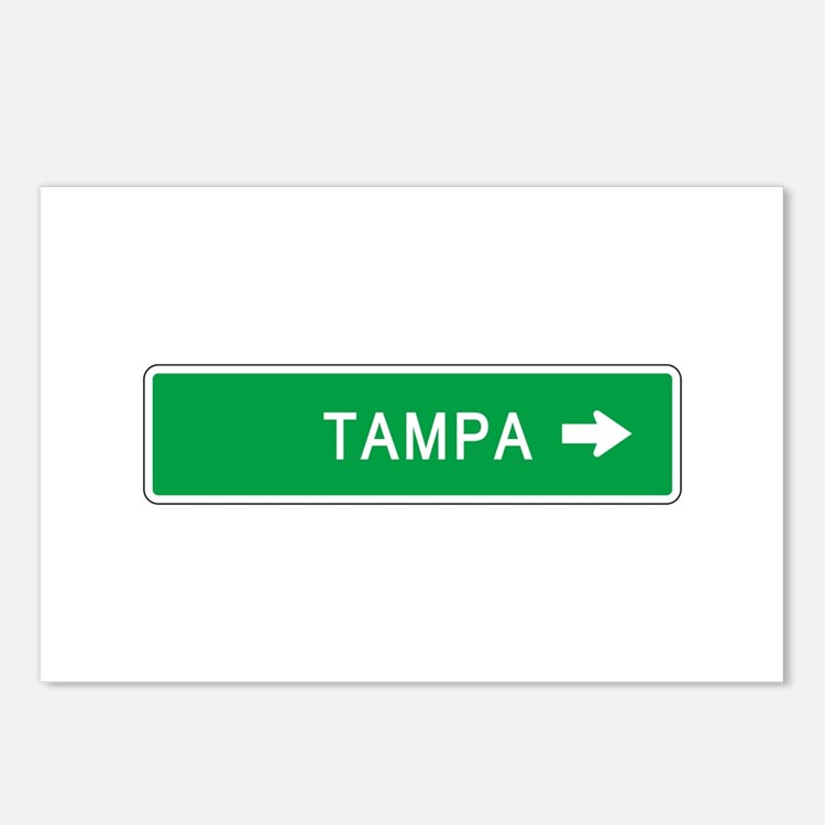 Roadmarker Tampa (FL) Postcards (Package of 8)