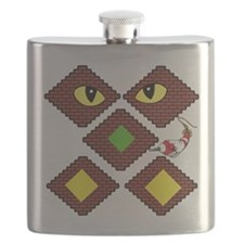 Blockcraft creeper Flask