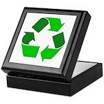 Recycle Environment Symbol Keepsake Box