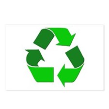Recycle Environment Symbol Postcards (Package of 8