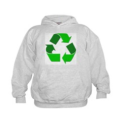 Recycle Environment Symbol Hoodie