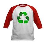 Recycle Environment Symbol (Front) Kids Baseball J