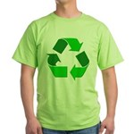 Recycle Environment Symbol (Front) Green T-Shirt
