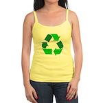 Recycle Environment Symbol Jr. Spaghetti Tank