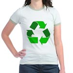 Recycle Environment Symbol (Front) Jr. Ringer T-Sh