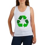 Recycle Environment Symbol Women's Tank Top