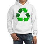 Recycle Environment Symbol Hooded Sweatshirt