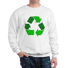Recycle Environment Symbol (Front) Sweatshirt