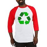 Recycle Environment Symbol Baseball Jersey