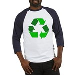 Recycle Environment Symbol (Front) Baseball Jersey