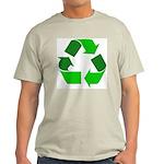 Recycle Environment Symbol Ash Grey T-Shirt