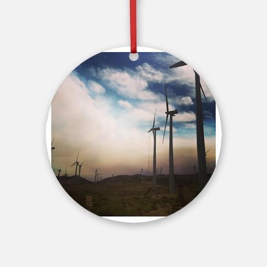 Windmills Ornament (Round)